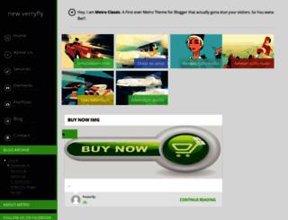 new-verryfly.blogspot.com screenshot