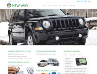 new-wayrentacar.com screenshot