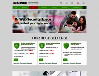 new-www.drweb.com screenshot