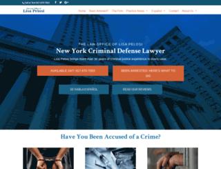new-york-criminal-lawyer.com screenshot