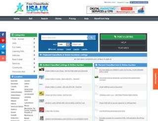 new-york-usa.usauk-classifieds.com screenshot