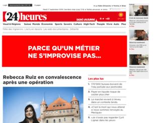 new.24heures.ch screenshot