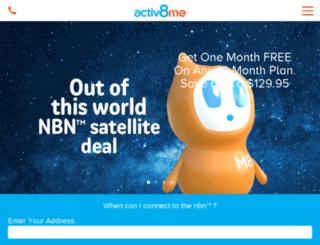 new.activ8me.net.au screenshot