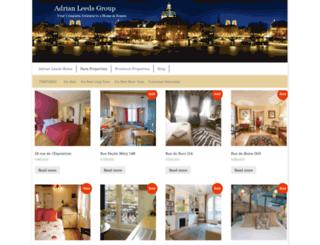 new.adrianleeds.com screenshot