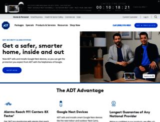 new.adt.com screenshot