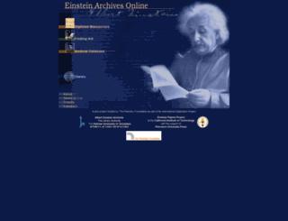 new.alberteinstein.info screenshot