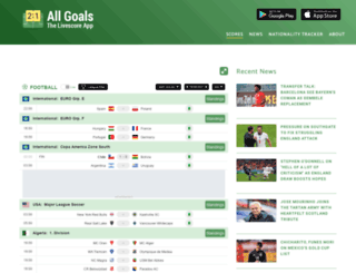 new.allgoals.com screenshot
