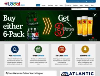 new.bahamaslocal.com screenshot