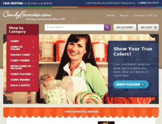 new.candyfavorites.com screenshot