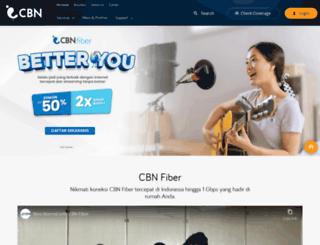 new.cbn.net.id screenshot