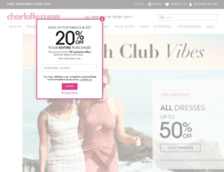 new.charlotterusse.com screenshot