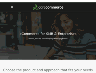 new.corecommerce.com screenshot
