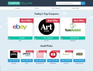 new.couponfollow.com screenshot