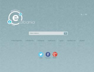 new.e-albania.al screenshot