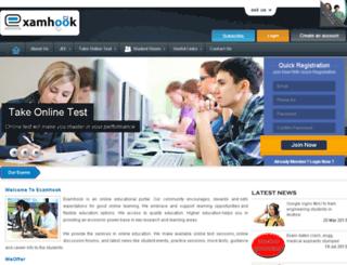 new.examhook.com screenshot
