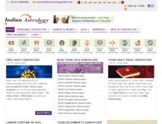 new.indianastrology2000.com screenshot