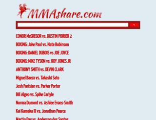 new.mmashare.com screenshot
