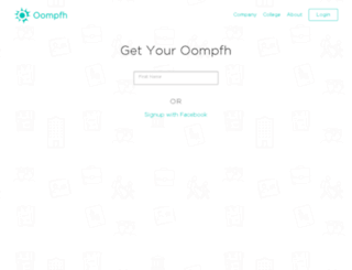 new.oompfh.com screenshot