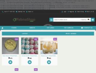 new.pabnashop.com screenshot
