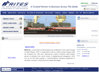 new.rites.com screenshot