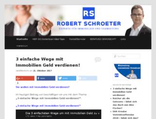 new.robertschroeter.com screenshot