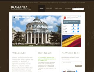 new.romania.org screenshot