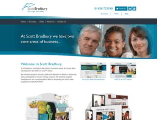 new.scottbradbury.co.uk screenshot
