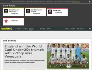 new.talksport.net screenshot