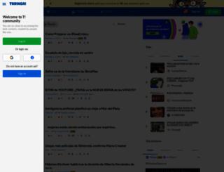 new.taringa.net screenshot
