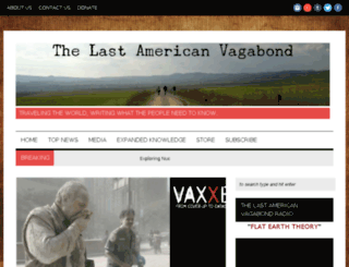 new.thelastamericanvagabond.com screenshot