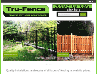 new.tru-fence.com screenshot
