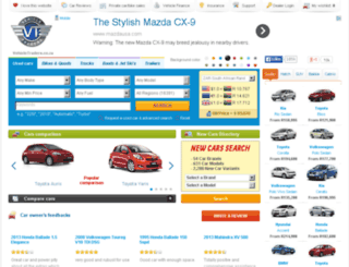new.vehicletraders.co.za screenshot