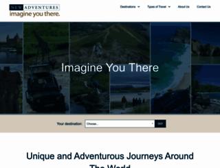 newadventures.com screenshot