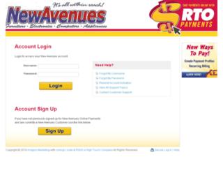 newavenues.rtopayments.com screenshot