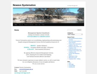 newavesystem.com.au screenshot