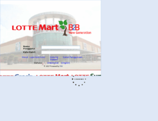newb2b.lottemart.co.id screenshot