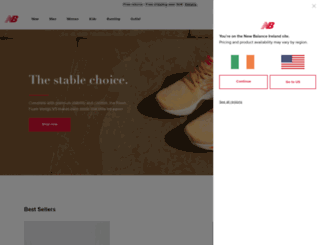 newbalance.ie screenshot