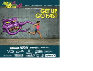newbalance15k.com.py screenshot