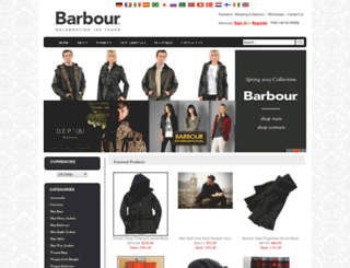 newbarbourjackets.com screenshot