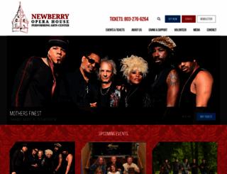 newberryoperahouse.com screenshot