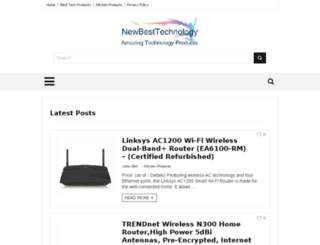 newbesttechnology.com screenshot