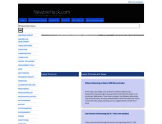 newbiehack.com screenshot