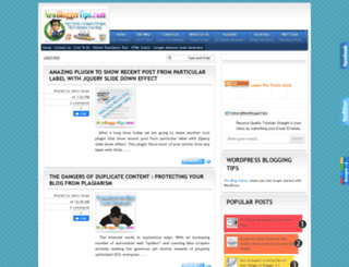 newbloggertips.com screenshot