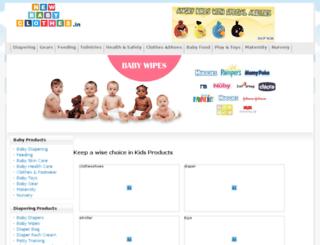 newbornclothes.in screenshot