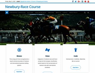 newbury-racecourse.co.uk screenshot