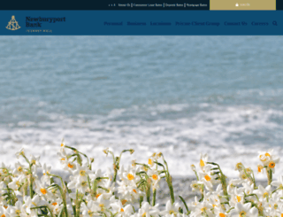 newburyportbank.com screenshot