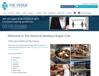 newburyrfc.co.uk screenshot