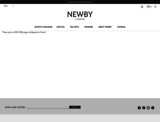 newbyteas.co.uk screenshot