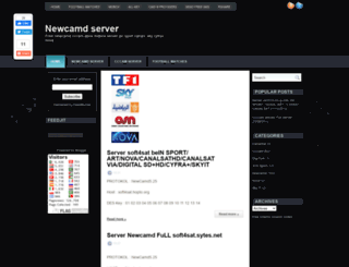 newcamdserver2012.blogspot.com screenshot