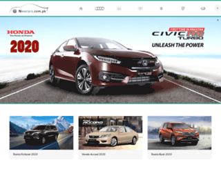 newcars.com.pk screenshot
